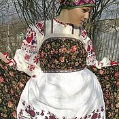 Русский стиль handmade. Livemaster - original item aprons. Handmade.