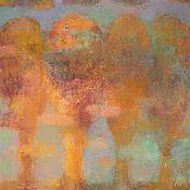 """Картины и панно ручной работы. Ярмарка Мастеров - ручная работа Картина маслом """"Затихшая мелодия"""". Handmade."""