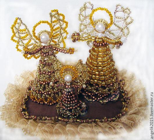 Миниатюрные модели ручной работы. Ярмарка Мастеров - ручная работа. Купить Набор ангелов  Хранители семьи. Handmade.
