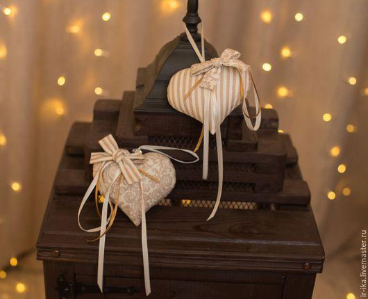 Подарки для влюбленных ручной работы. Ярмарка Мастеров - ручная работа. Купить Сердечки винтажные. Handmade. Комбинированный, сердце текстильное