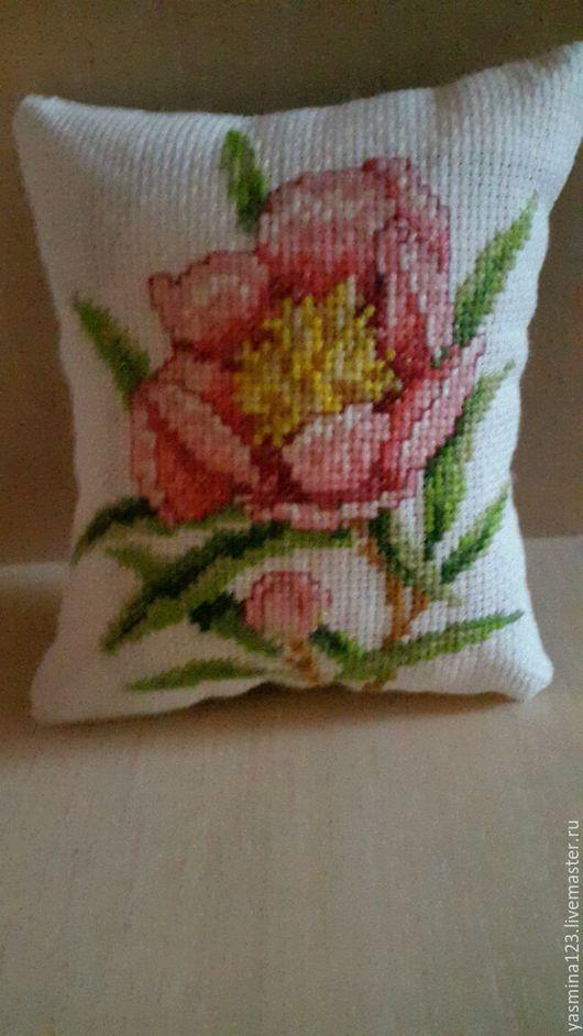 Текстиль, ковры ручной работы. Ярмарка Мастеров - ручная работа. Купить Подушка вышитая. Handmade. Вышивка, подушка