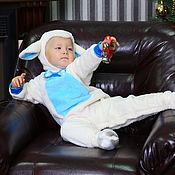 Работы для детей, ручной работы. Ярмарка Мастеров - ручная работа Карнавальный новогодний костюм Барашка для малышей и детей. Handmade.