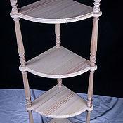 Для дома и интерьера handmade. Livemaster - original item The shelves are angled, four -. Handmade.