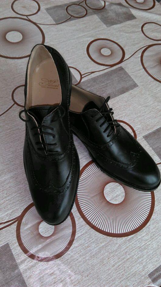 Обувь ручной работы. Ярмарка Мастеров - ручная работа. Купить Мужские Броги. Handmade. Туфли, обувь, чепрак