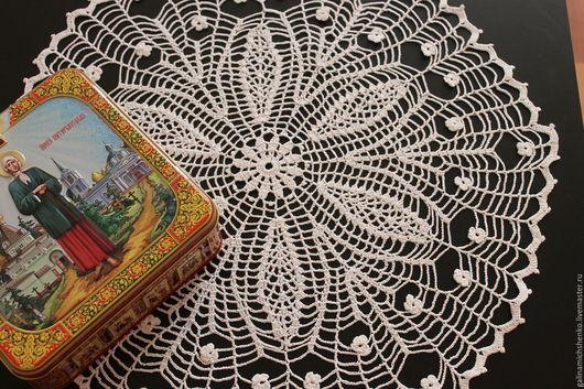 Текстиль, ковры ручной работы. Ярмарка Мастеров - ручная работа. Купить Салфетка № 61. Handmade. Салфетка, ажурная салфетка