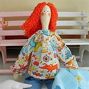 Куклы и игрушки ручной работы. Ярмарка Мастеров - ручная работа Рыжая Беременная Тильдочка с сердечком. Handmade.