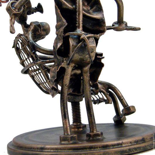 Миниатюрные модели ручной работы. Ярмарка Мастеров - ручная работа. Купить Парикмахер №2. Handmade. Скульптурная миниатюра, марикмахер из гаек
