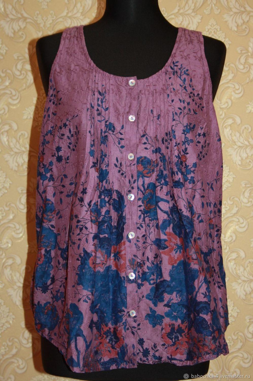 Винтаж: Блузка F&F,Atmosphere 48 размер 90-е, Одежда винтажная, Старая Купавна,  Фото №1