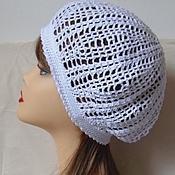 Работы для детей, handmade. Livemaster - original item BERET-knit. Handmade.