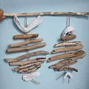 Для дома и интерьера handmade. Livemaster - original item Fish Driftwood pendant. Handmade.