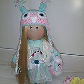 Куклы и игрушки ручной работы. Ярмарка Мастеров - ручная работа Текстильная кукла Совушка Соня. Handmade.