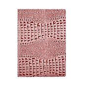 Канцелярские товары handmade. Livemaster - original item Document folder A4 iris Caiman. Handmade.