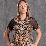 Блузки ручной работы. Ярмарка Мастеров - ручная работа Блуза 334-2. Handmade.