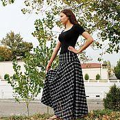 Одежда handmade. Livemaster - original item Warm skirt yoke.. Handmade.
