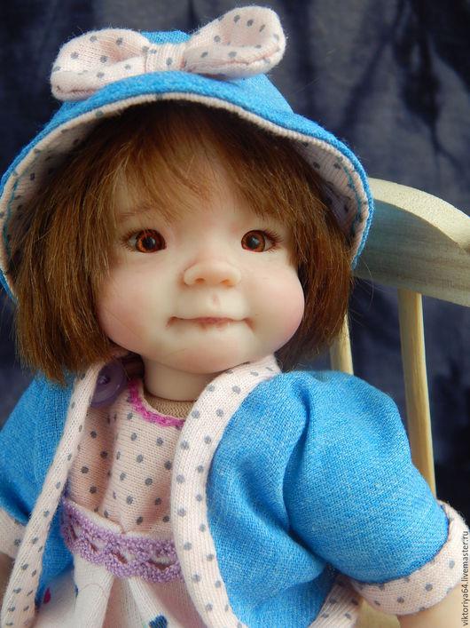 Куклы-младенцы и reborn ручной работы. Ярмарка Мастеров - ручная работа. Купить Никуша) Весенняя девочка). Handmade. Комбинированный, кукла
