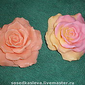 """Косметика ручной работы. Ярмарка Мастеров - ручная работа Мыло """"Чайная роза"""". Handmade."""