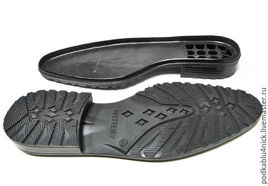 Другие виды рукоделия ручной работы. Ярмарка Мастеров - ручная работа. Купить Подошва для обуви Мистери. Handmade. Черный