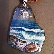 Украшения ручной работы. Ярмарка Мастеров - ручная работа Слушая Море.... Handmade.