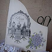 Канцелярские товары ручной работы. Ярмарка Мастеров - ручная работа Журнальница Парижское ателье   (по мотивам). Handmade.