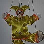 Куклы и пупсы ручной работы. Ярмарка Мастеров - ручная работа Марионетка Петрушка малый. Handmade.