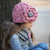 Работы для детей, ручной работы. Ярмарка Мастеров - ручная работа Вязаный комплект «Raspberry». Handmade.