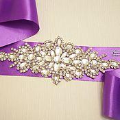 Аксессуары handmade. Livemaster - original item Belt for dresses