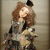 Куклы и игрушки ручной работы. Ярмарка Мастеров - ручная работа Мэри и Поль. Handmade.