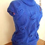 """Одежда ручной работы. Ярмарка Мастеров - ручная работа Жилет """"Ультрамарин"""". Handmade."""