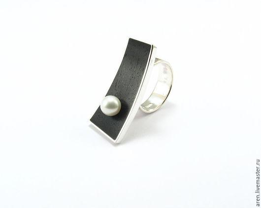 """Кольца ручной работы. Ярмарка Мастеров - ручная работа. Купить Кольцо """"Перл"""". Handmade. Белый, кольцо ручной работы"""