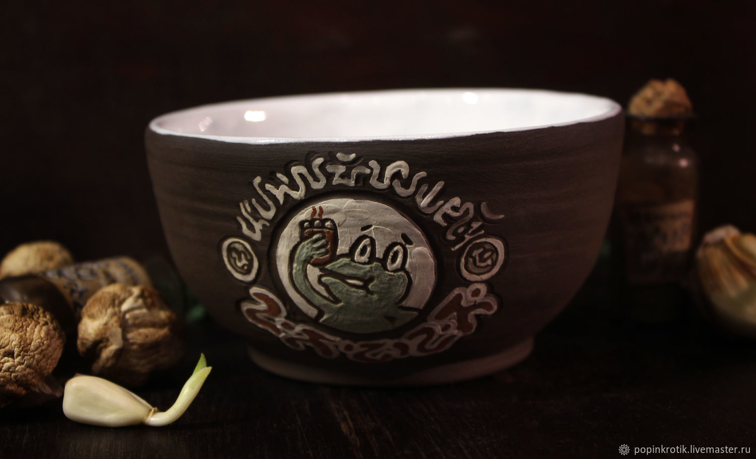 A small Bowl of 'Master Frog' (XI), Bowls, Moscow,  Фото №1