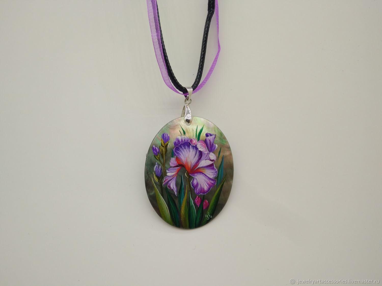 Iris purple, Pendants, Vladimir,  Фото №1