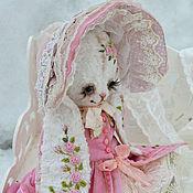 """Мягкие игрушки ручной работы. Ярмарка Мастеров - ручная работа Плюшевая зайка """"Амелия"""". Handmade."""