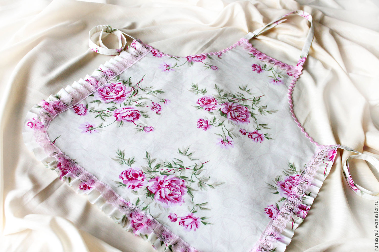 Apron waterproof 'Soft shabby' apron for kitchen, Aprons, Rybinsk,  Фото №1