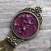 Канцелярские товары handmade. Livemaster - original item Bookmark Cobweb cherry blossom. Handmade.