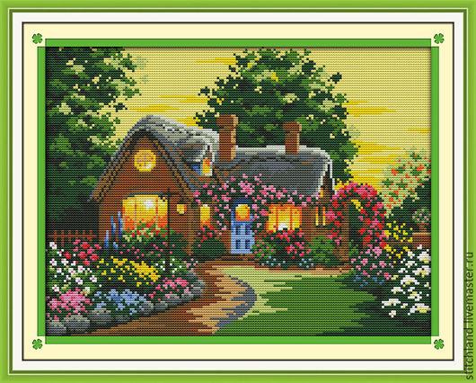 Набор для вышивания `Загородный дом`