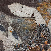 """Сумки и аксессуары ручной работы. Ярмарка Мастеров - ручная работа Авторская сумка """"Ангел-хранитель белых птиц"""". Handmade."""