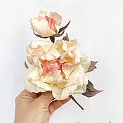 Украшения handmade. Livemaster - original item Rose silk. Brooch made of silk rose