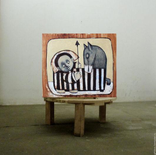 Люди, ручной работы. Ярмарка Мастеров - ручная работа. Купить Во сне. Handmade. Белый, акрил, 4 мм