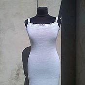 Одежда ручной работы. Ярмарка Мастеров - ручная работа нижнее платье для вязанных изделий. Handmade.