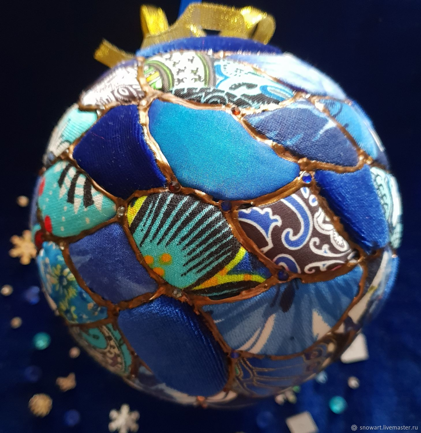 Christmas decorations Patchwork – shop online on Livemaster with