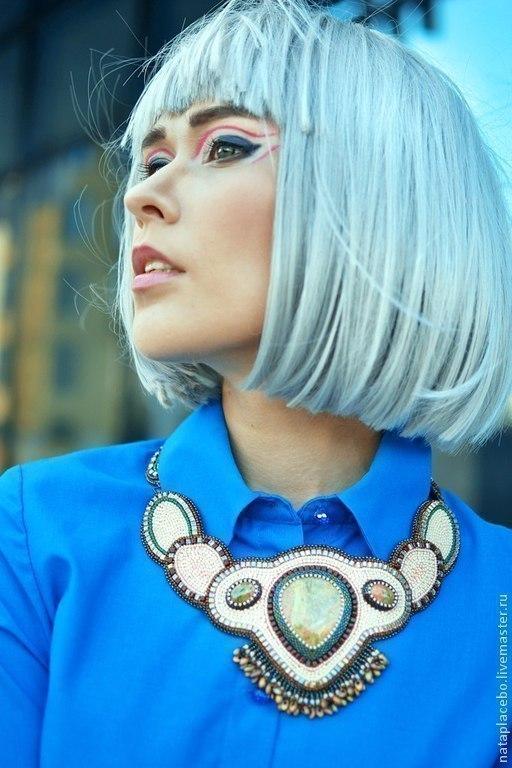 Фотограф Татьяна Басалаева  колье из натуральных камней купить