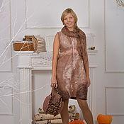 Одежда ручной работы. Ярмарка Мастеров - ручная работа Платье войлочное  Кашемир. Handmade.
