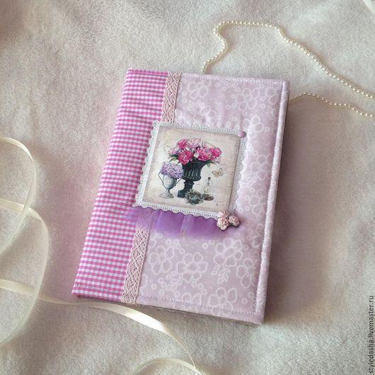 Блокноты ручной работы. Ярмарка Мастеров - ручная работа. Купить Блокнот в винтажном стиле. Handmade. Бледно-розовый