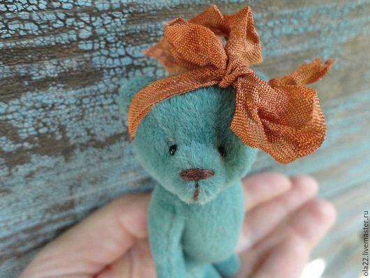 Мишки Тедди ручной работы. Ярмарка Мастеров - ручная работа. Купить Бетси. Handmade. Бирюзовый, игрушка ручной работы, конфетка