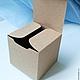 Упаковка ручной работы. Ярмарка Мастеров - ручная работа. Купить Крафт коробка 7 х 7 х 7 см. Handmade.
