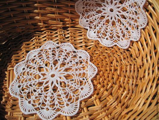 Текстиль, ковры ручной работы. Ярмарка Мастеров - ручная работа. Купить Салфетка № 134. Handmade. Белый, салфетка кружевная