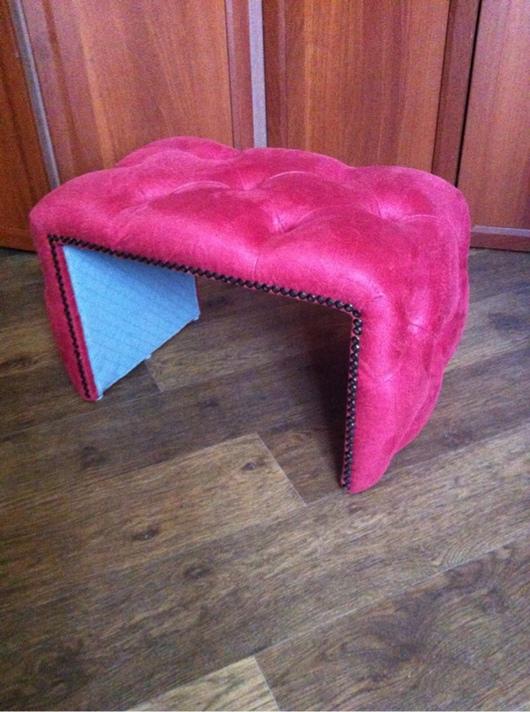 Мебель ручной работы. Ярмарка Мастеров - ручная работа. Купить Мини стул Энди. Handmade. Стул, спальня, ткань, поролон