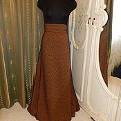 Одежда ручной работы. Ярмарка Мастеров - ручная работа Юбка-полусолнце на осень. Handmade.