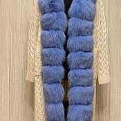 Одежда handmade. Livemaster - original item Cardigan with natural fur