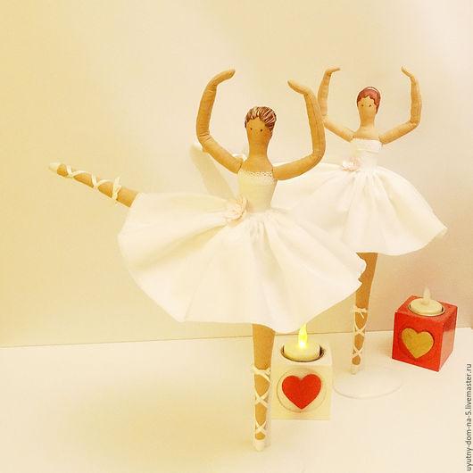 Балерина Тильда, кукла ручной работы, для дома и интерьера.